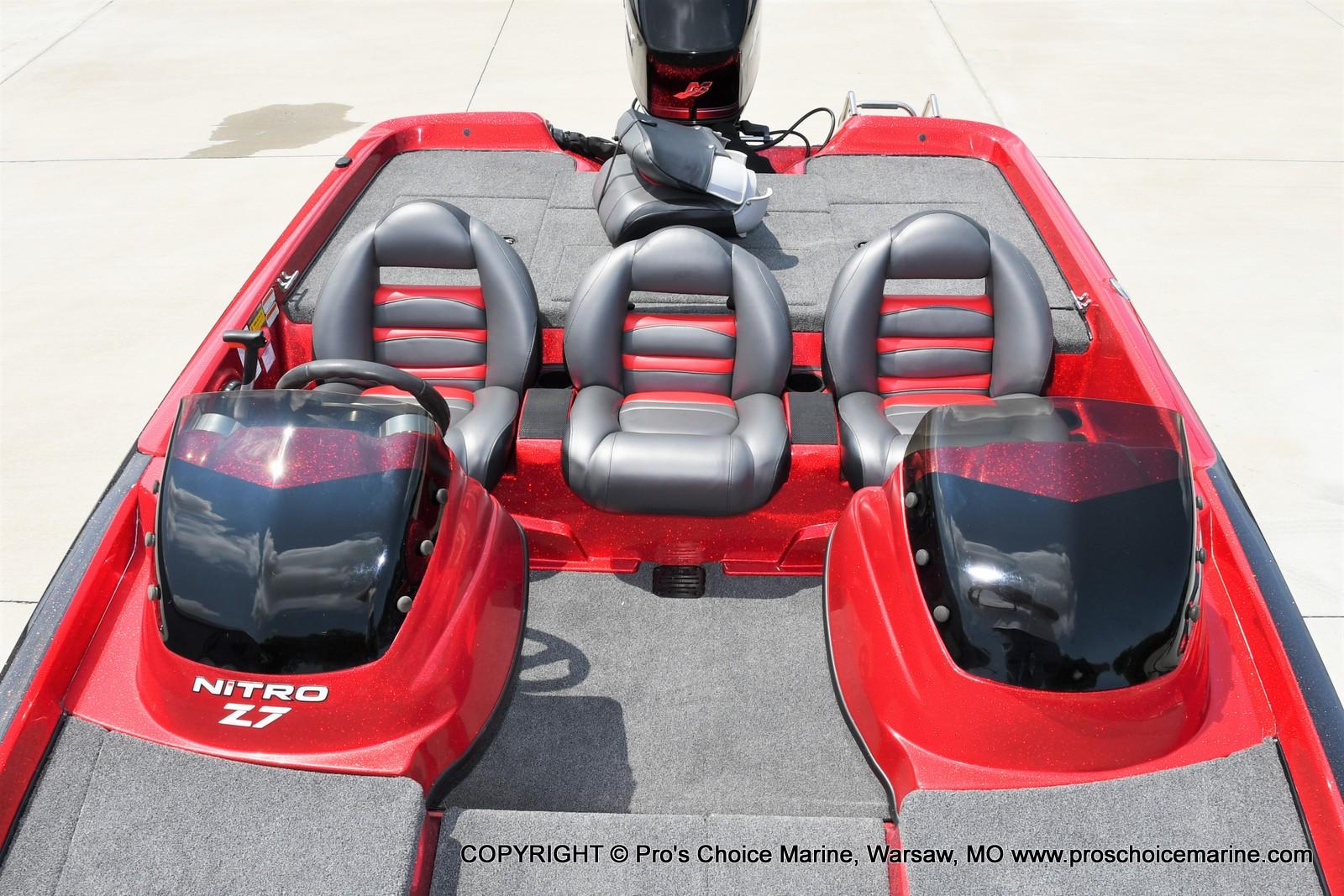 2009 Nitro boat for sale, model of the boat is Z-7 & Image # 12 of 50