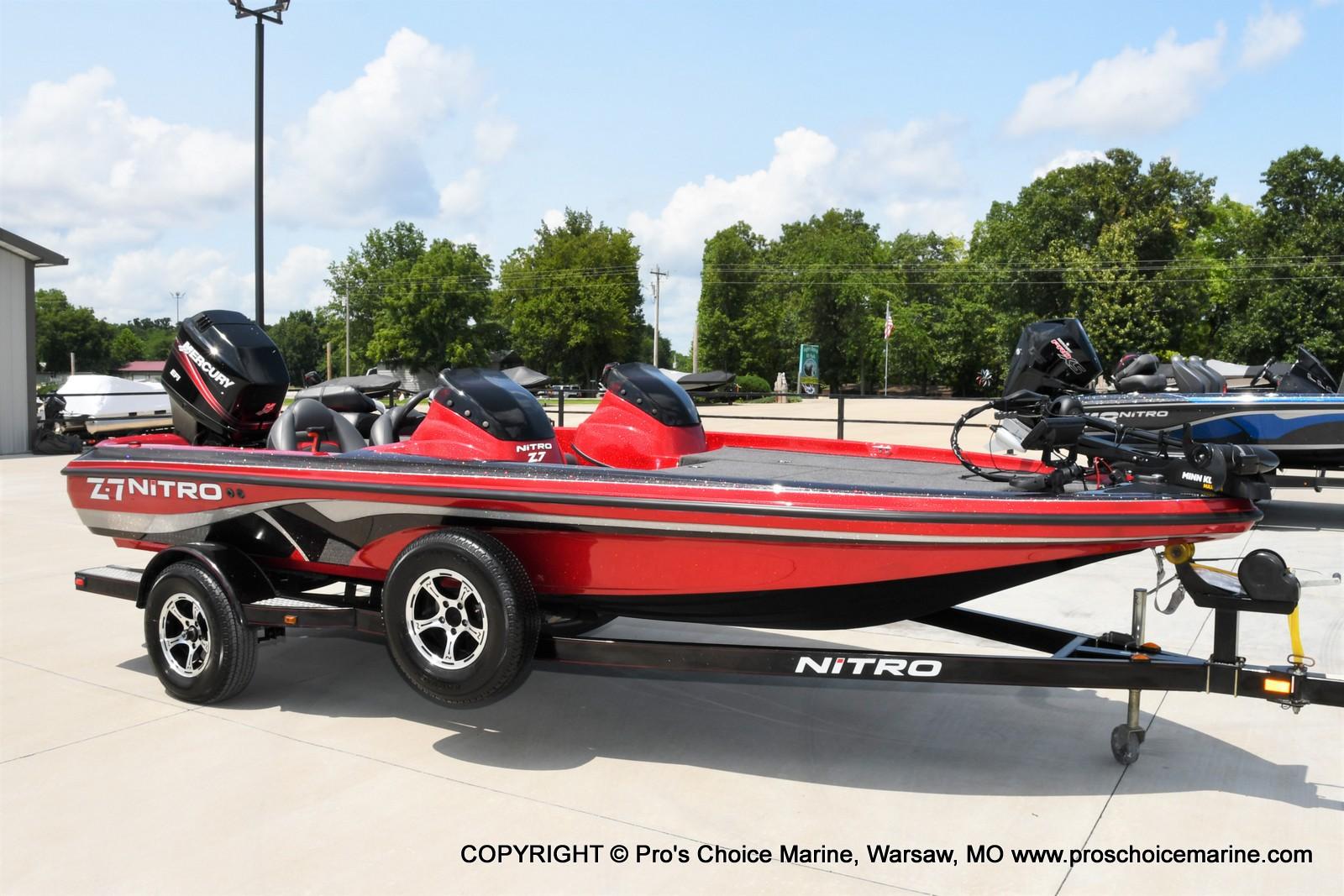 2009 Nitro boat for sale, model of the boat is Z-7 & Image # 16 of 50