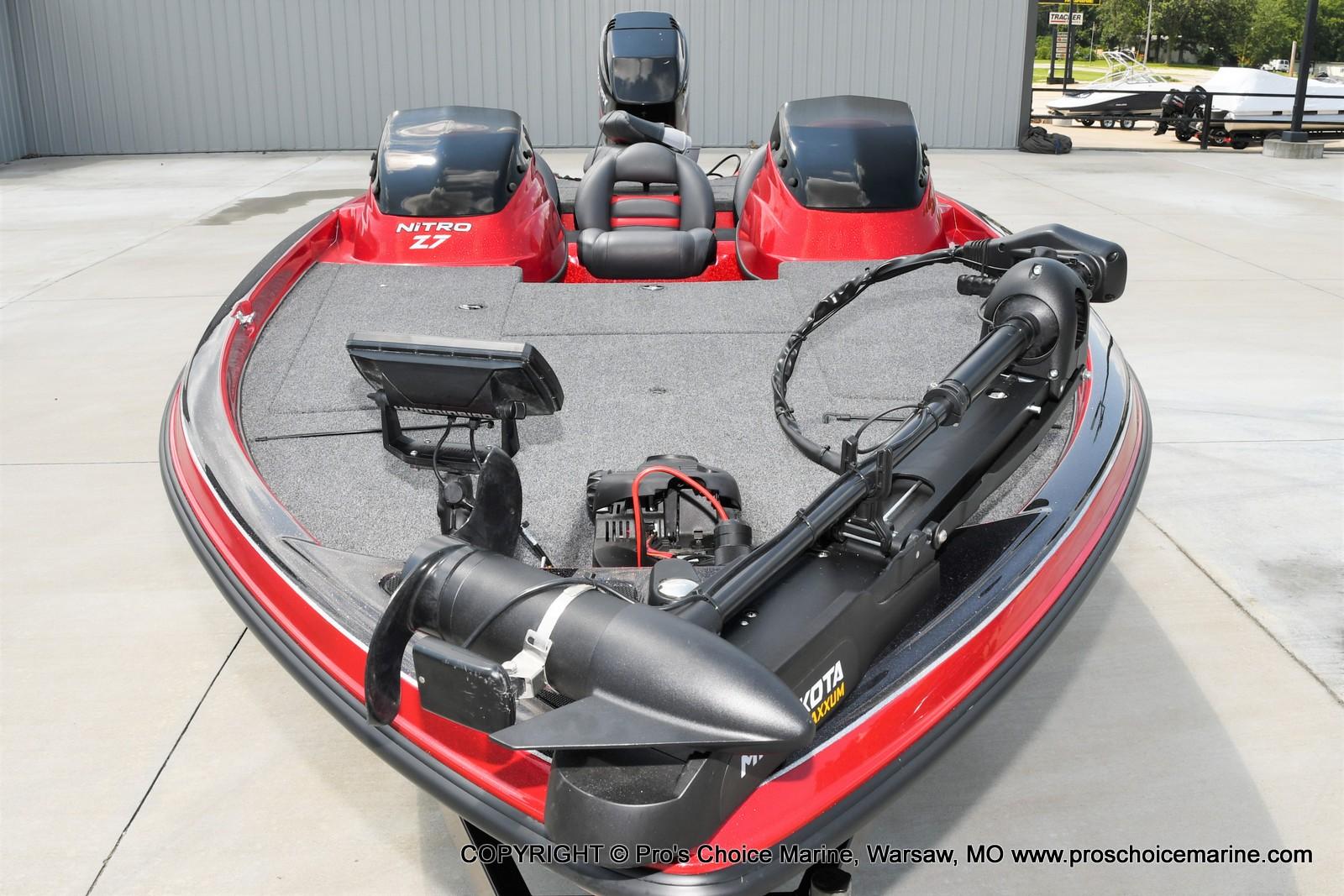 2009 Nitro boat for sale, model of the boat is Z-7 & Image # 20 of 50