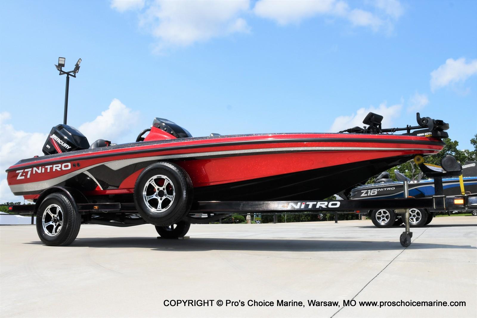 2009 Nitro boat for sale, model of the boat is Z-7 & Image # 3 of 50