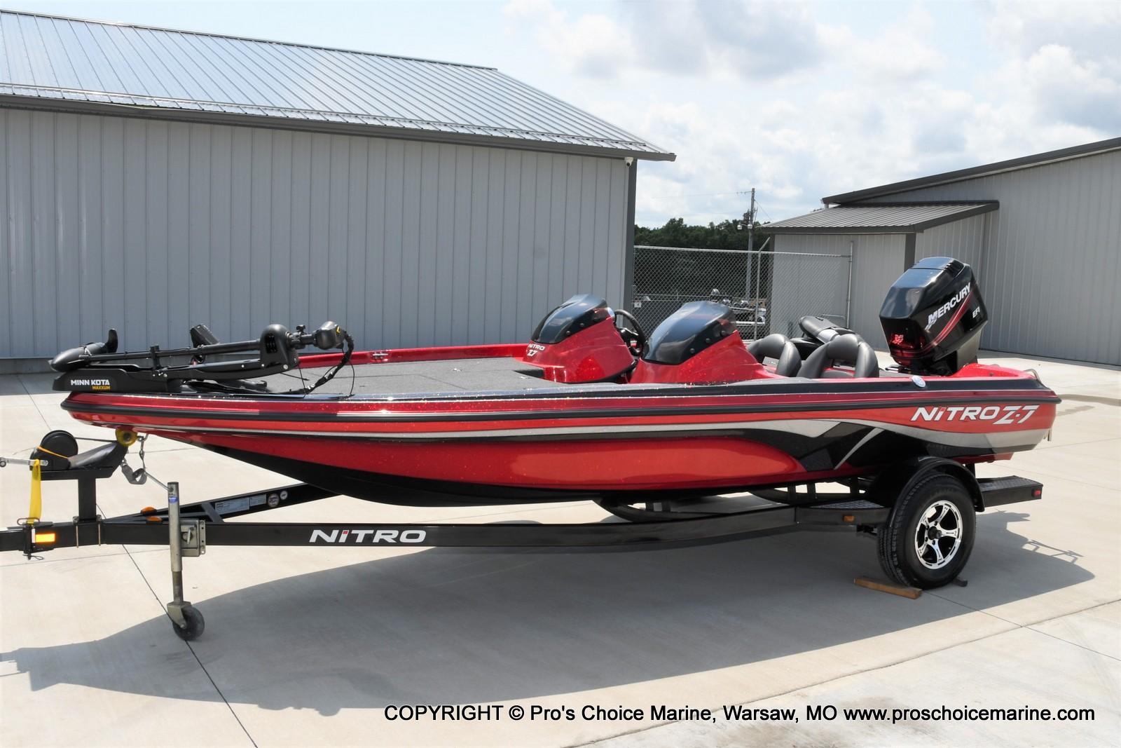 2009 Nitro boat for sale, model of the boat is Z-7 & Image # 6 of 50