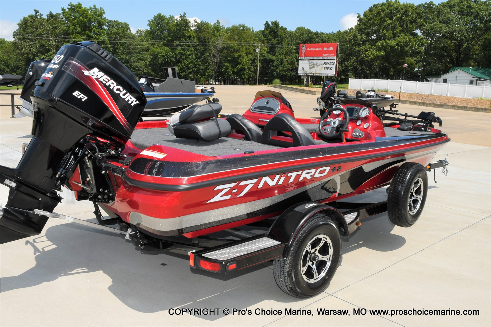 2009 Nitro boat for sale, model of the boat is Z-7 & Image # 39 of 50