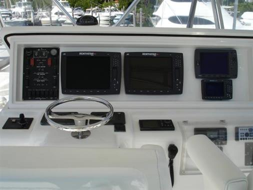 2007 57' Bertram Helm Electronics