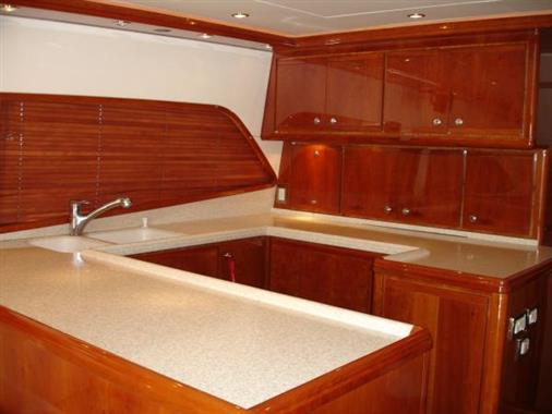 2007 57' Bertram Galley