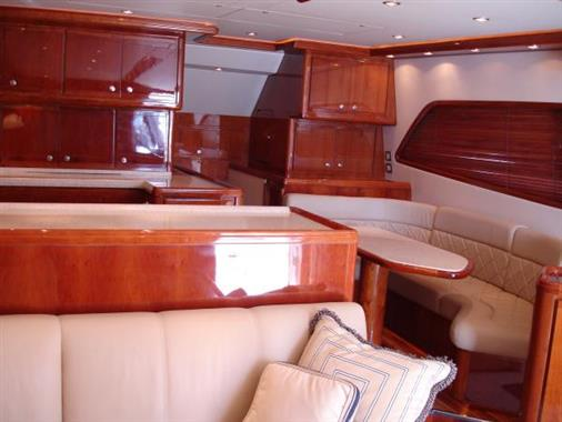 2007 57' Bertram Galley / Dinette