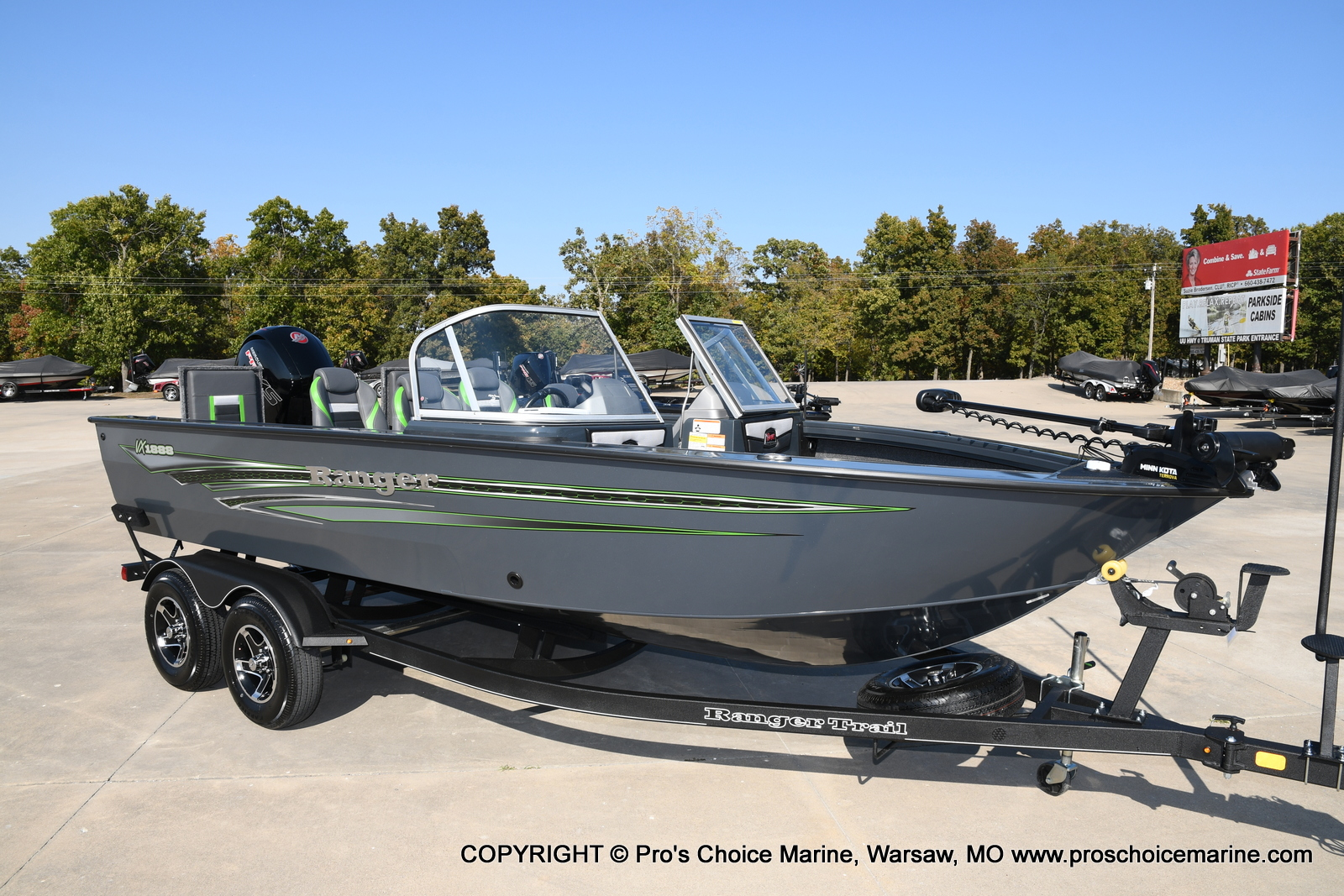 2021 Ranger Boats boat for sale, model of the boat is VX1888 WT w/150HP Pro-XS 4 Stroke & Image # 31 of 50