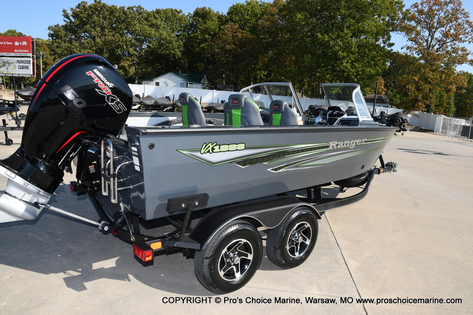 2021 Ranger Boats boat for sale, model of the boat is VX1888 WT w/150HP Pro-XS 4 Stroke & Image # 33 of 50
