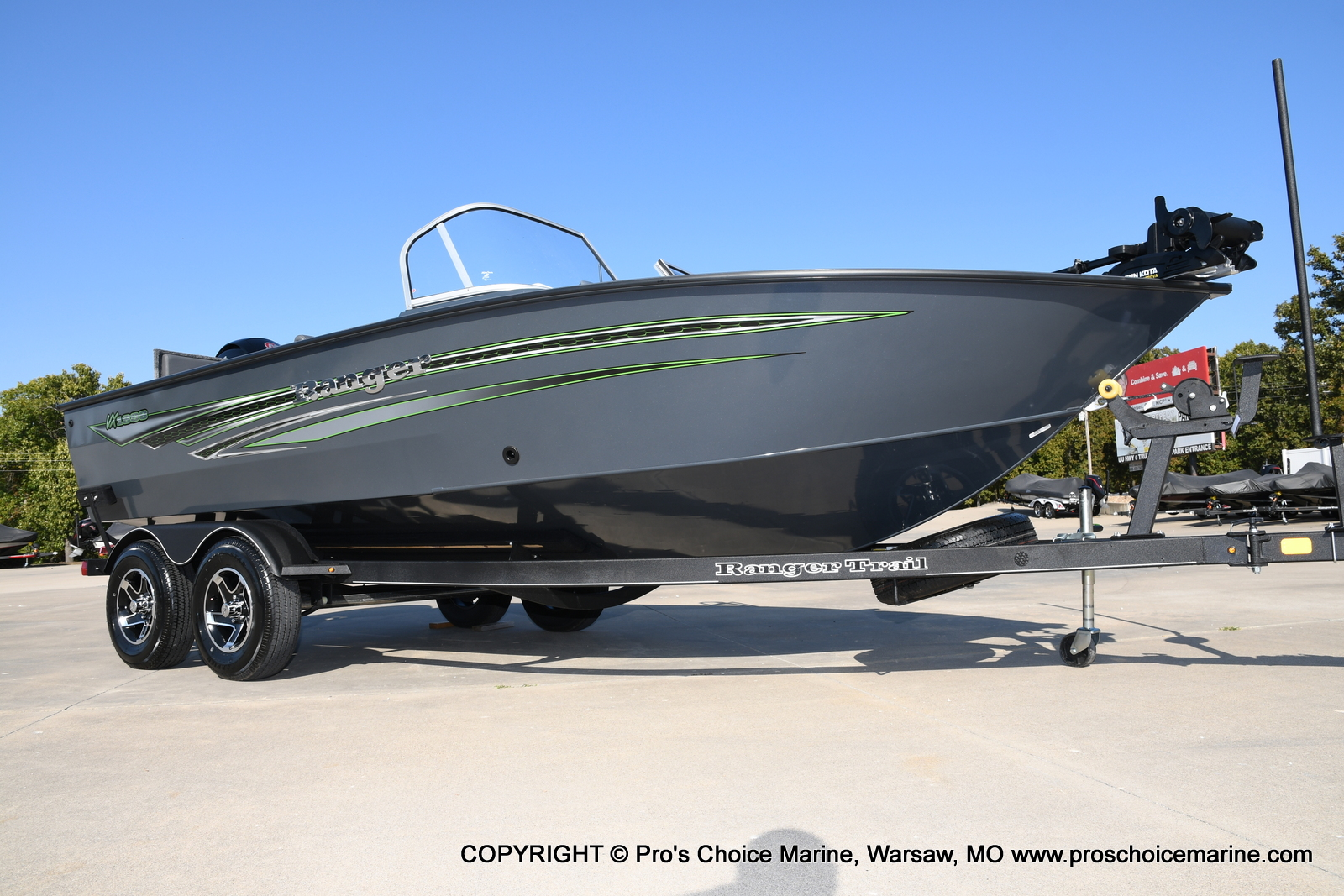 2021 Ranger Boats boat for sale, model of the boat is VX1888 WT w/150HP Pro-XS 4 Stroke & Image # 1 of 50