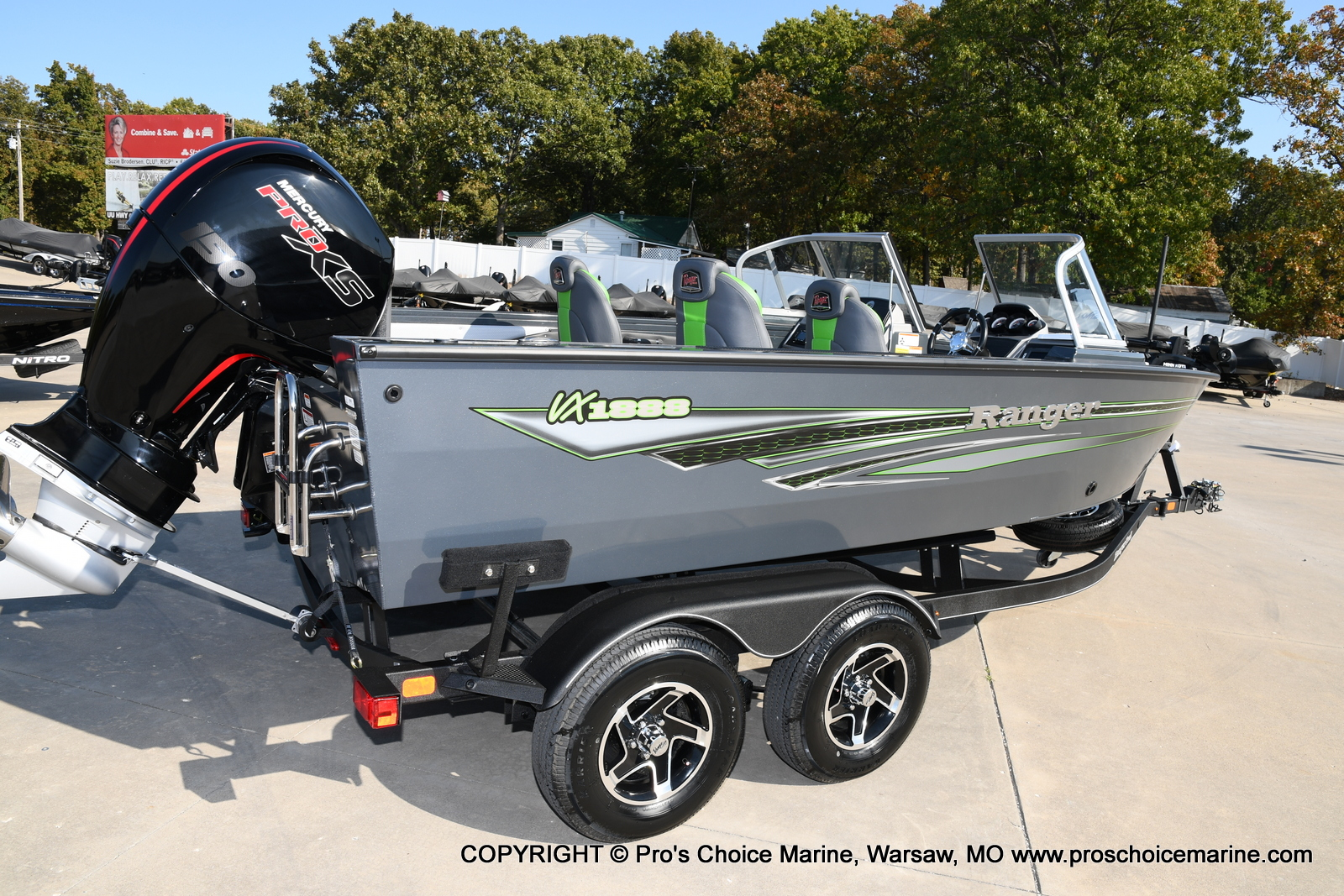 2021 Ranger Boats boat for sale, model of the boat is VX1888 WT w/150HP Pro-XS 4 Stroke & Image # 4 of 50