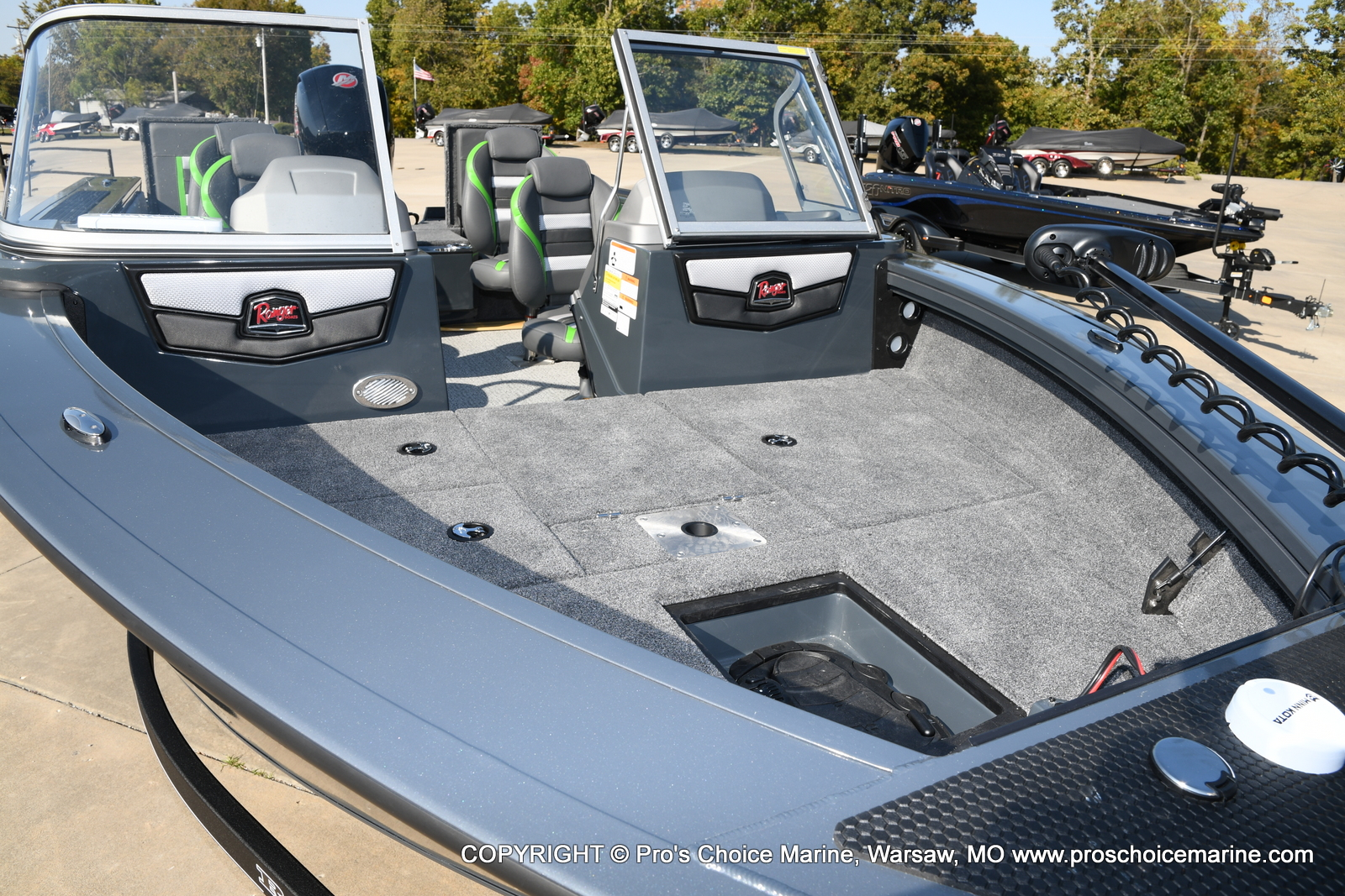 2021 Ranger Boats boat for sale, model of the boat is VX1888 WT w/150HP Pro-XS 4 Stroke & Image # 47 of 50