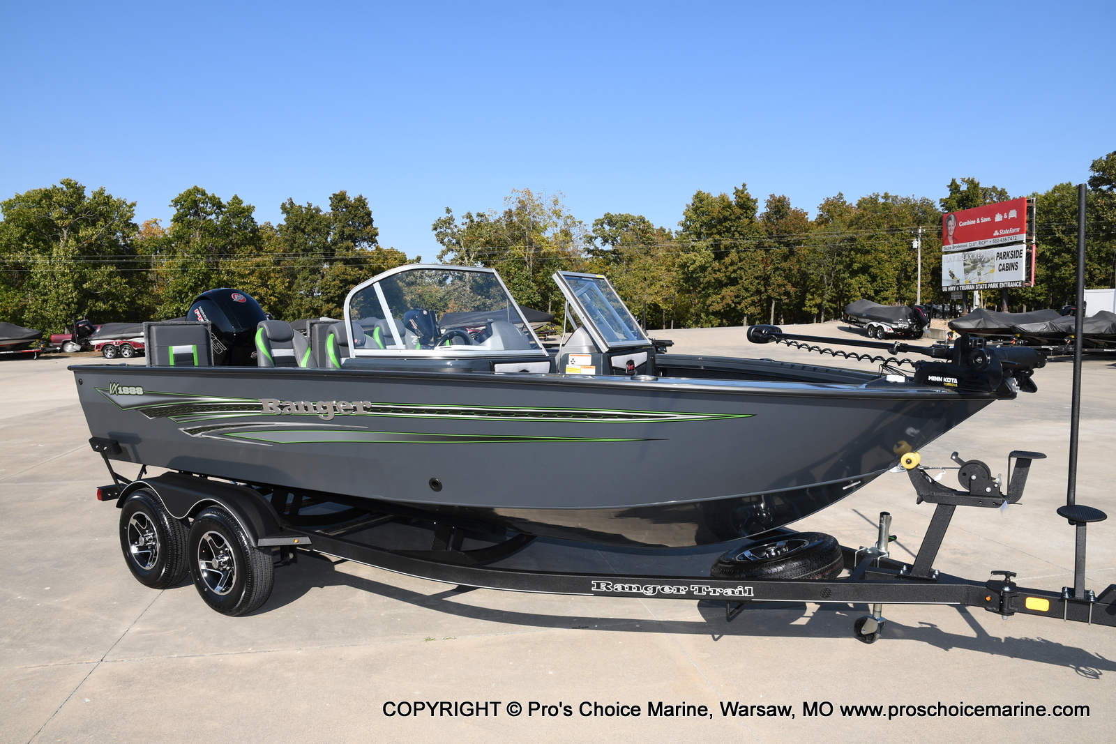 2021 Ranger Boats boat for sale, model of the boat is VX1888 WT w/150HP Pro-XS & Image # 2 of 50
