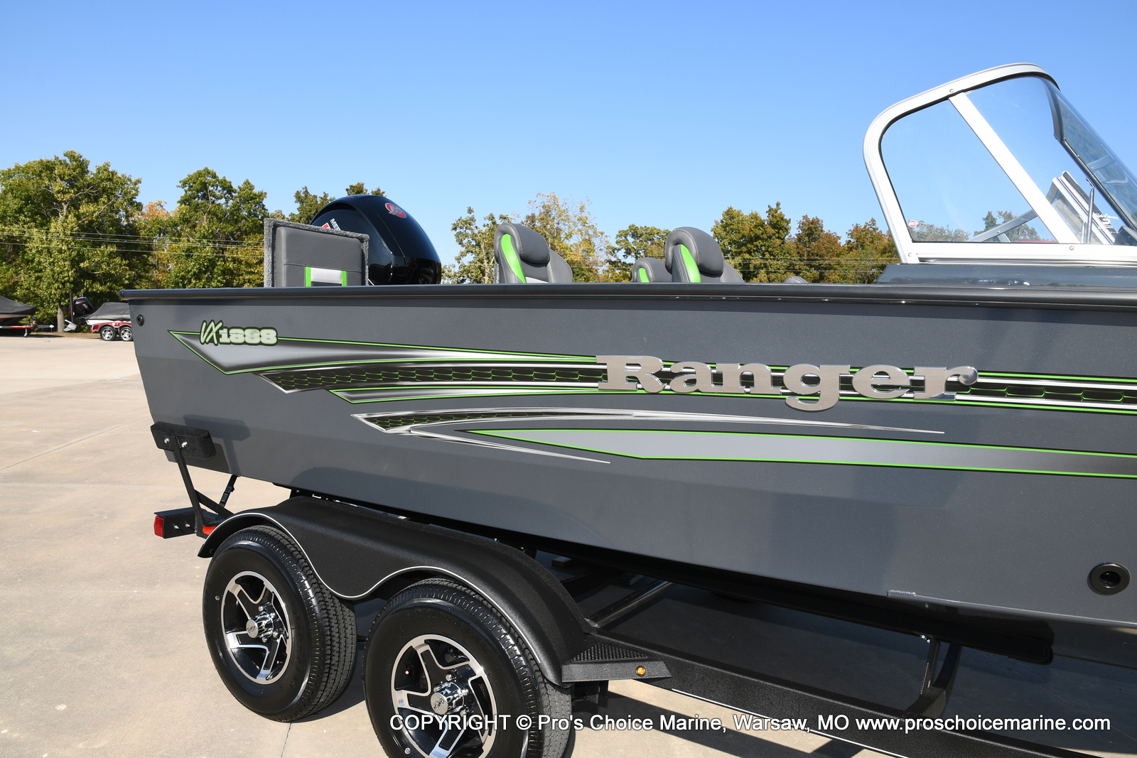 2021 Ranger Boats boat for sale, model of the boat is VX1888 WT w/150HP Pro-XS & Image # 3 of 50
