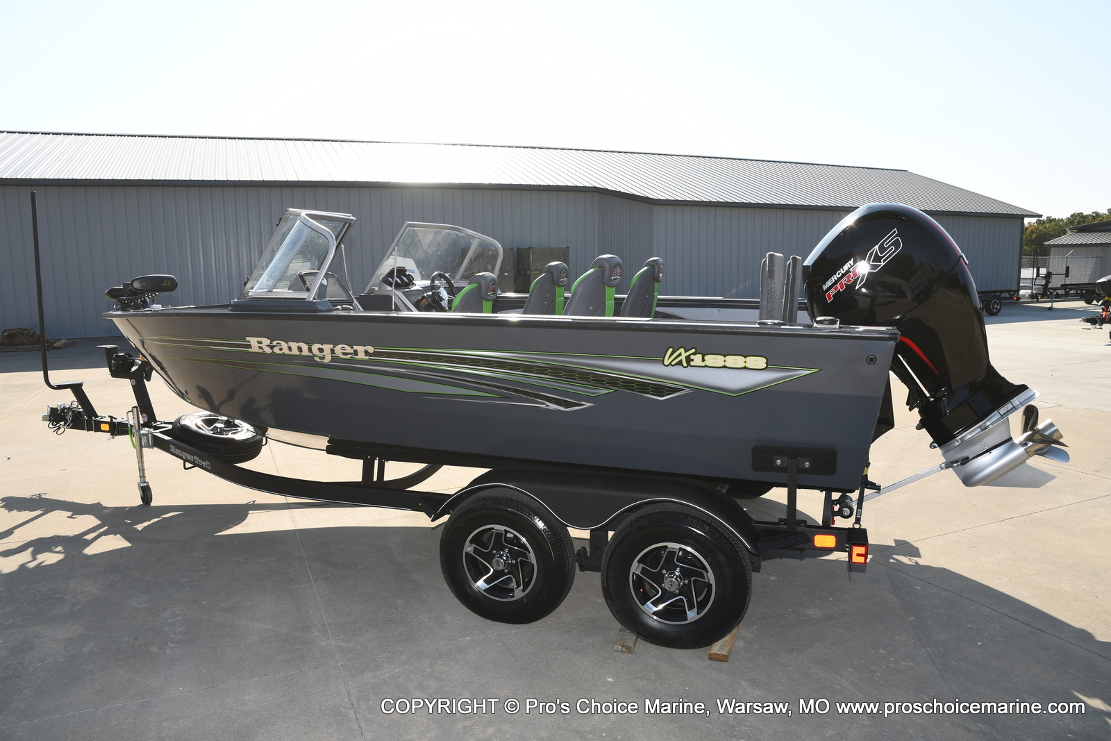 2021 Ranger Boats boat for sale, model of the boat is VX1888 WT w/150HP Pro-XS & Image # 4 of 50
