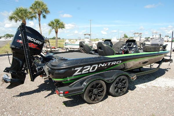 2017 Tracker Boats boat for sale, model of the boat is NITRO Z20 PRO & Image # 5 of 10