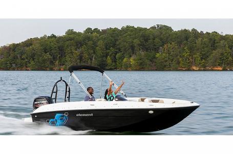 2021 Bayliner boat for sale, model of the boat is Element E18 & Image # 3 of 5