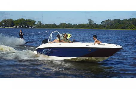 2021 Bayliner boat for sale, model of the boat is Element E18 & Image # 3 of 6