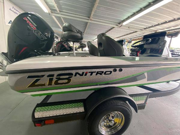 2021 Nitro boat for sale, model of the boat is Z18 & Image # 1 of 6