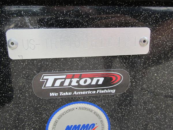 2021 Triton boat for sale, model of the boat is 20TRX & Image # 25 of 25