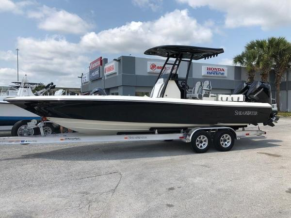 2021 ShearWater boat for sale, model of the boat is 270 Carolina Flare & Image # 1 of 8