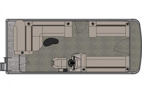 2021 Tahoe Cruise Rear Bench 20'