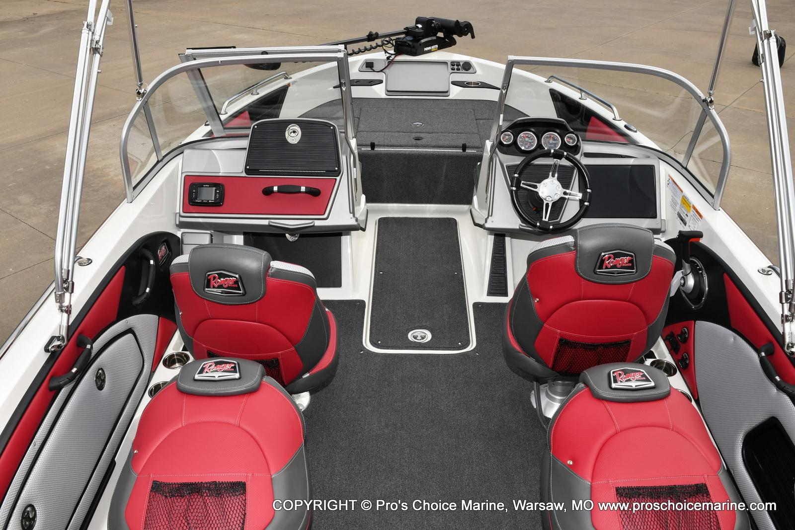 2021 Ranger Boats boat for sale, model of the boat is 1850MS w/150HP Pro-XS & Image # 8 of 50