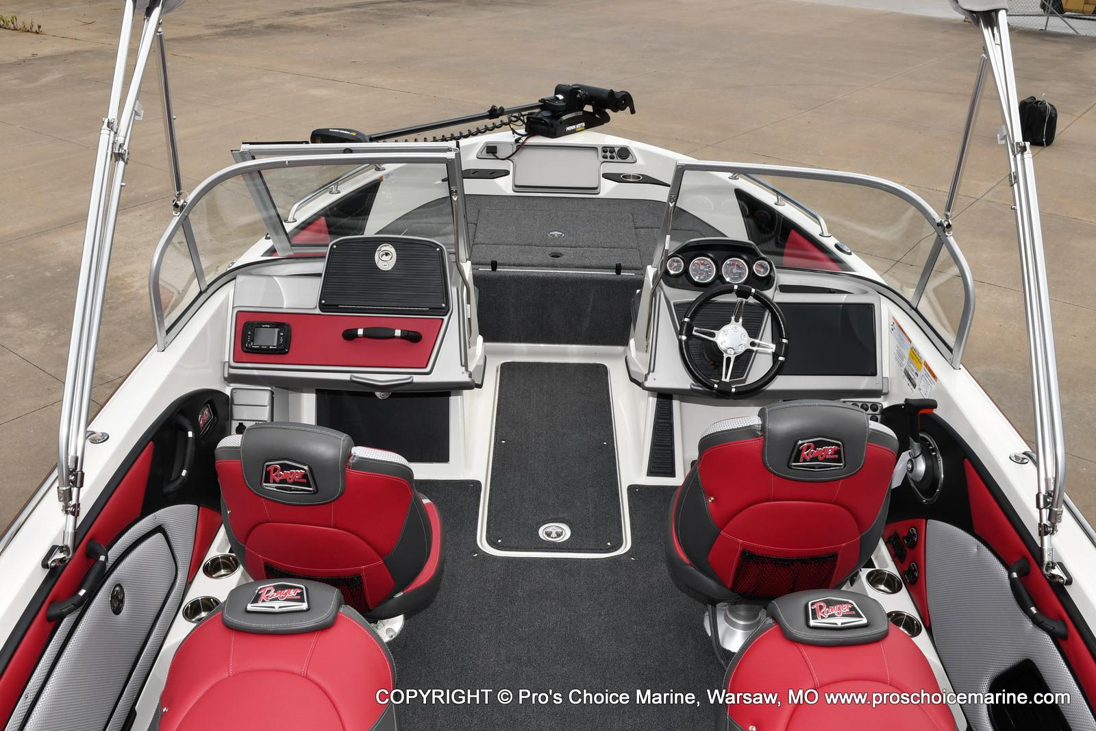 2021 Ranger Boats boat for sale, model of the boat is 1850MS w/150HP Pro-XS & Image # 9 of 50