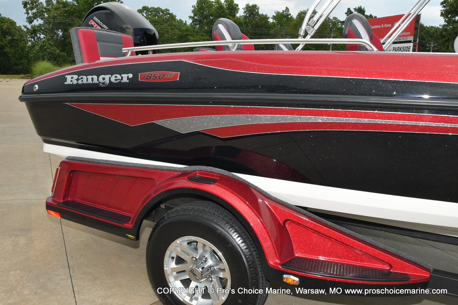 2021 Ranger Boats boat for sale, model of the boat is 1850MS w/150HP Pro-XS & Image # 41 of 50