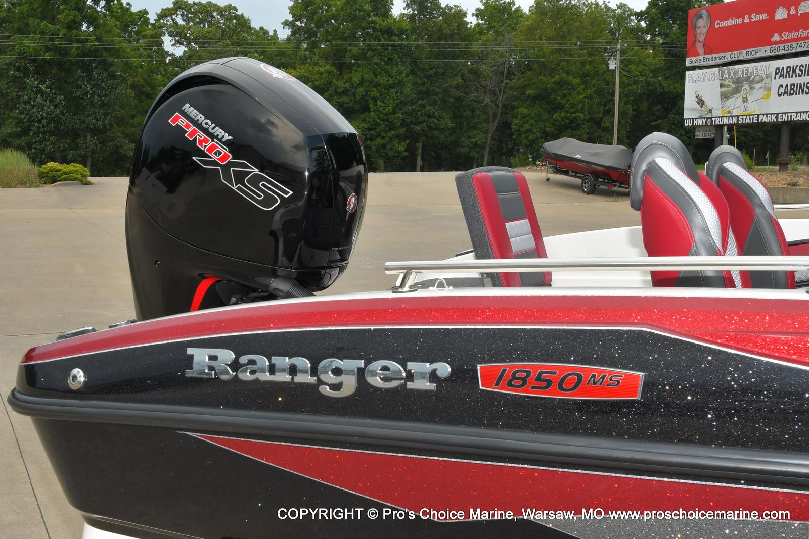 2021 Ranger Boats boat for sale, model of the boat is 1850MS w/150HP Pro-XS & Image # 42 of 50