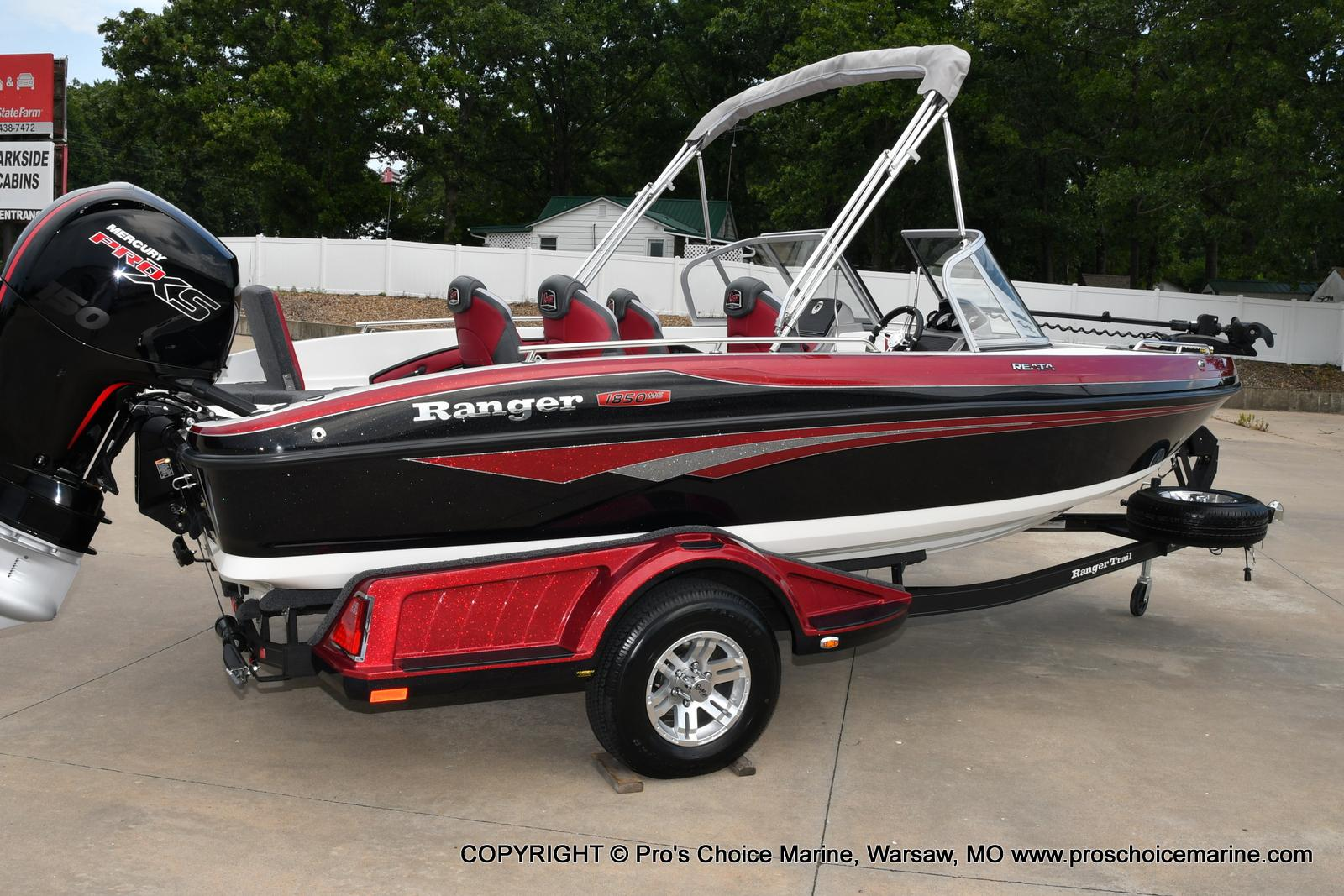 2021 Ranger Boats boat for sale, model of the boat is 1850MS w/150HP Pro-XS & Image # 43 of 50