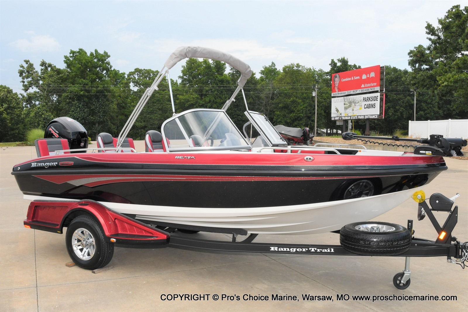 2021 Ranger Boats boat for sale, model of the boat is 1850MS w/150HP Pro-XS & Image # 1 of 50