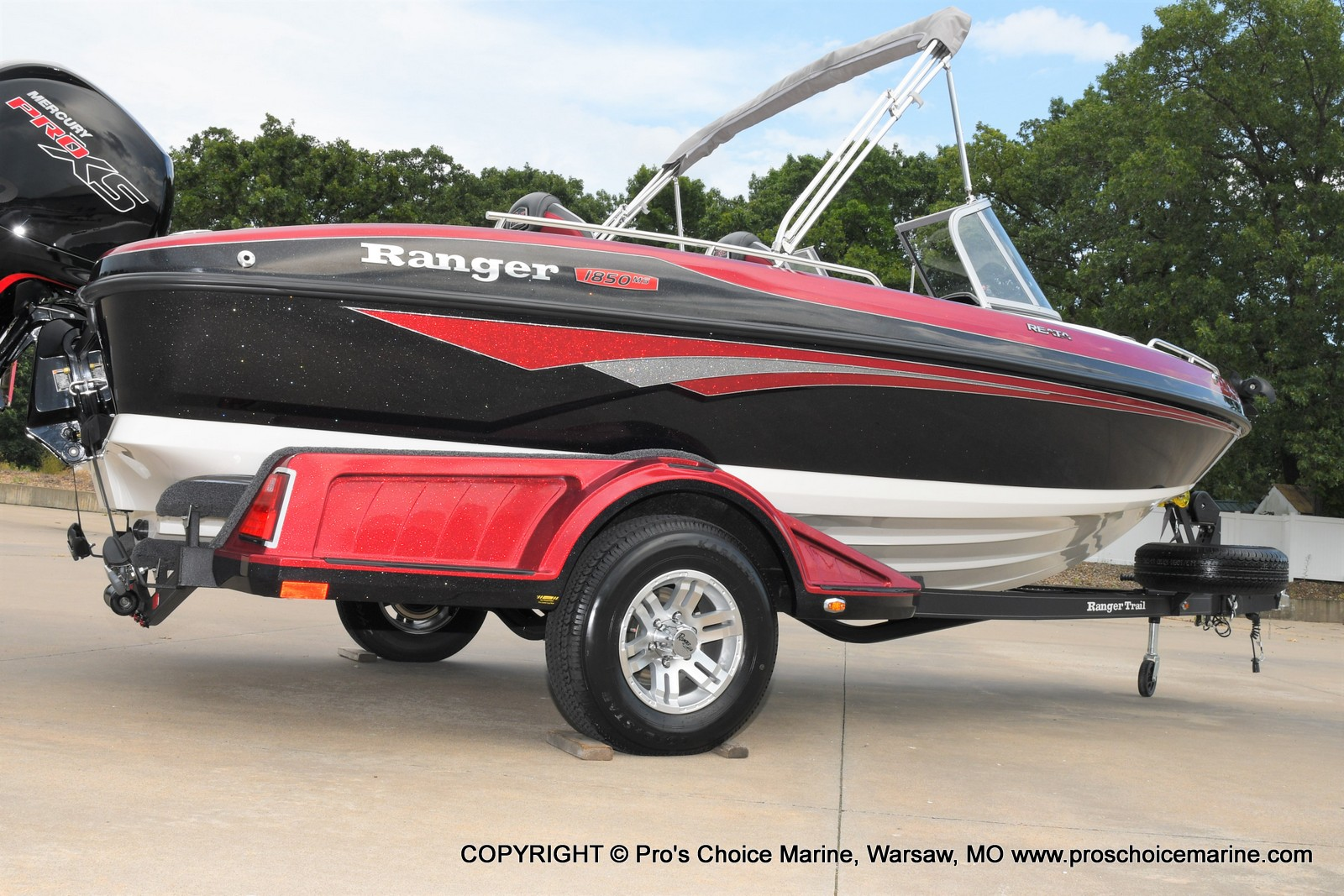 2021 Ranger Boats boat for sale, model of the boat is 1850MS w/150HP Pro-XS & Image # 2 of 50
