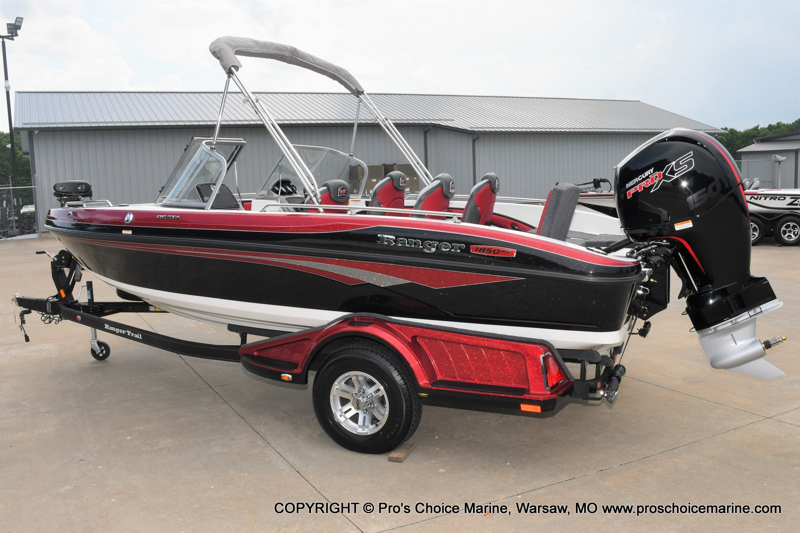 2021 Ranger Boats boat for sale, model of the boat is 1850MS w/150HP Pro-XS & Image # 22 of 50