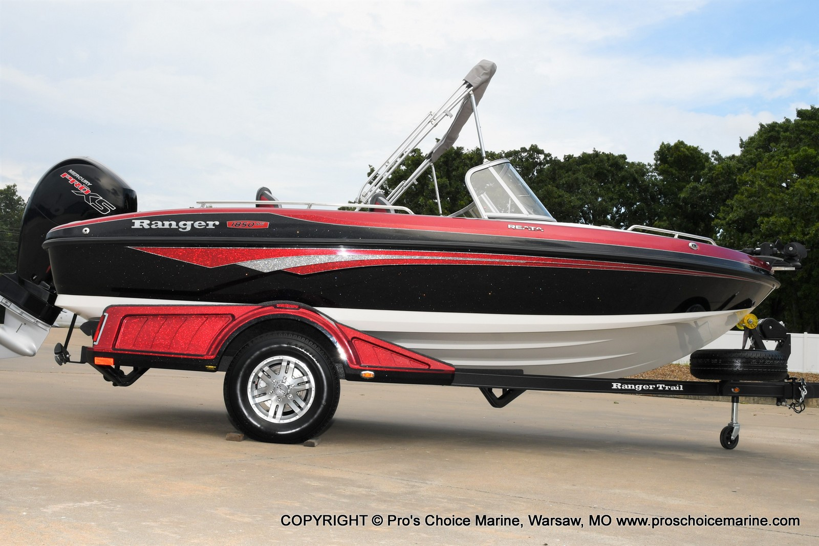 2021 Ranger Boats boat for sale, model of the boat is 1850MS w/150HP Pro-XS & Image # 44 of 50