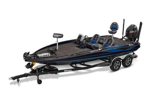 2021 Triton boat for sale, model of the boat is 20 TRX Patriot & Image # 12 of 15