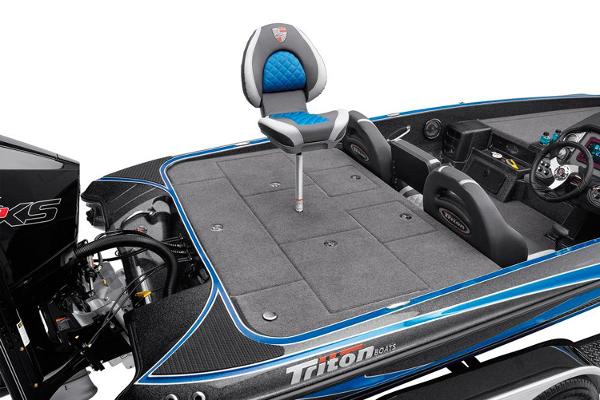 2021 Triton boat for sale, model of the boat is 20 TRX Patriot & Image # 8 of 15