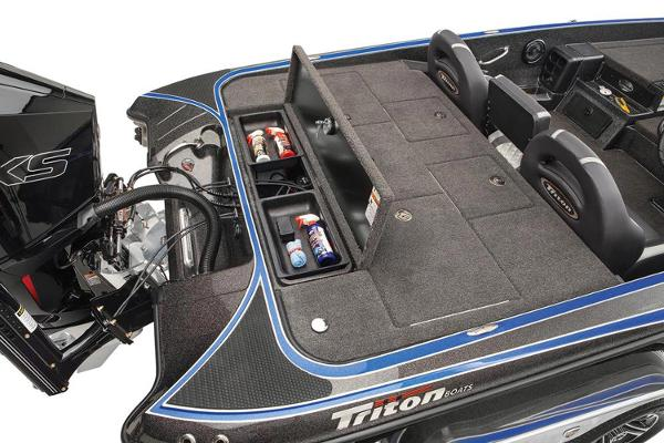 2021 Triton boat for sale, model of the boat is 20 TRX Patriot & Image # 10 of 15