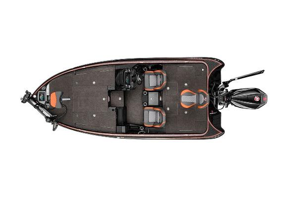 2021 Triton boat for sale, model of the boat is 19 TRX Patriot & Image # 11 of 12