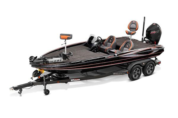 2021 Triton boat for sale, model of the boat is 19 TRX Patriot & Image # 9 of 12