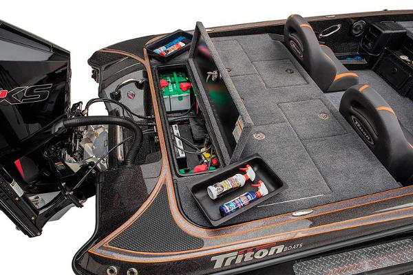 2021 Triton boat for sale, model of the boat is 19 TRX Patriot & Image # 5 of 12