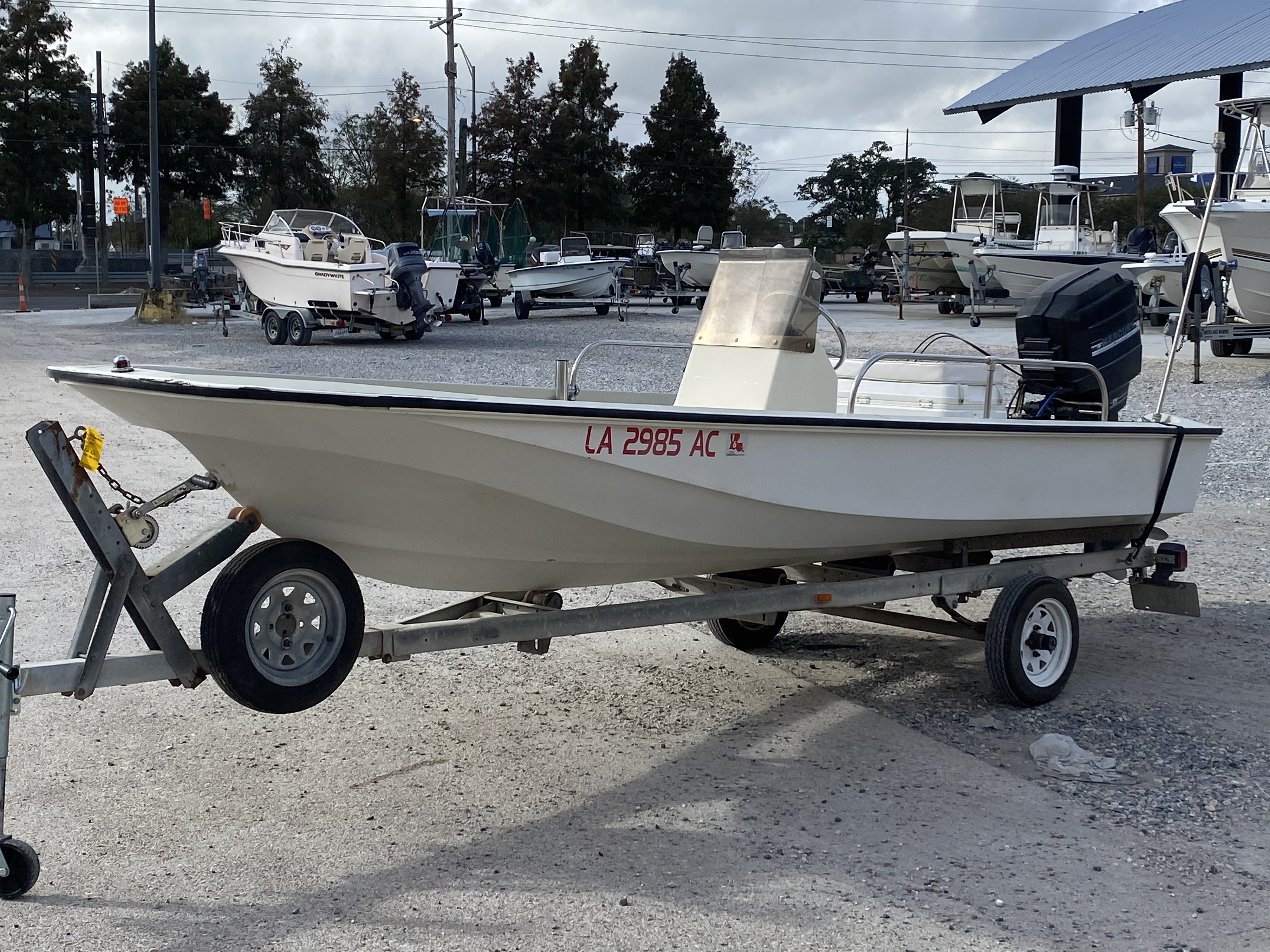 1978 Boston Whaler boat for sale, model of the boat is 15 & Image # 4 of 10