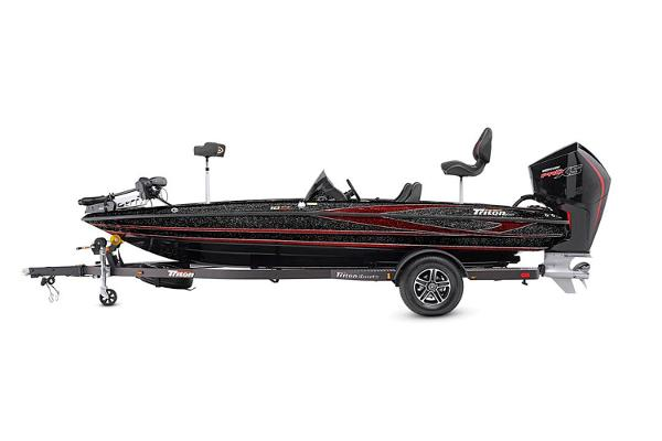 2021 Triton boat for sale, model of the boat is 18 TRX & Image # 15 of 17