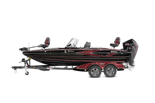 2021 Triton boat for sale, model of the boat is 206 Fishunter & Image # 16 of 18