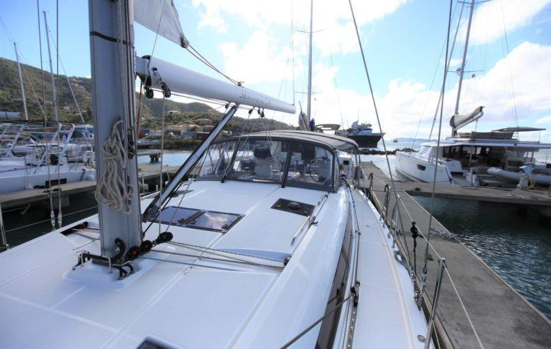 Deck facing aft