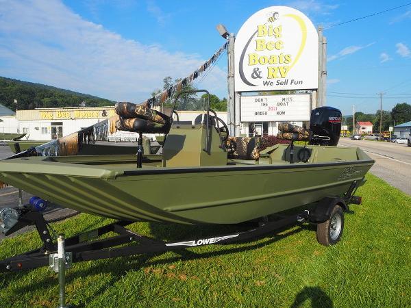 2021 LOWE Roughneck 1760 Pathfinder
