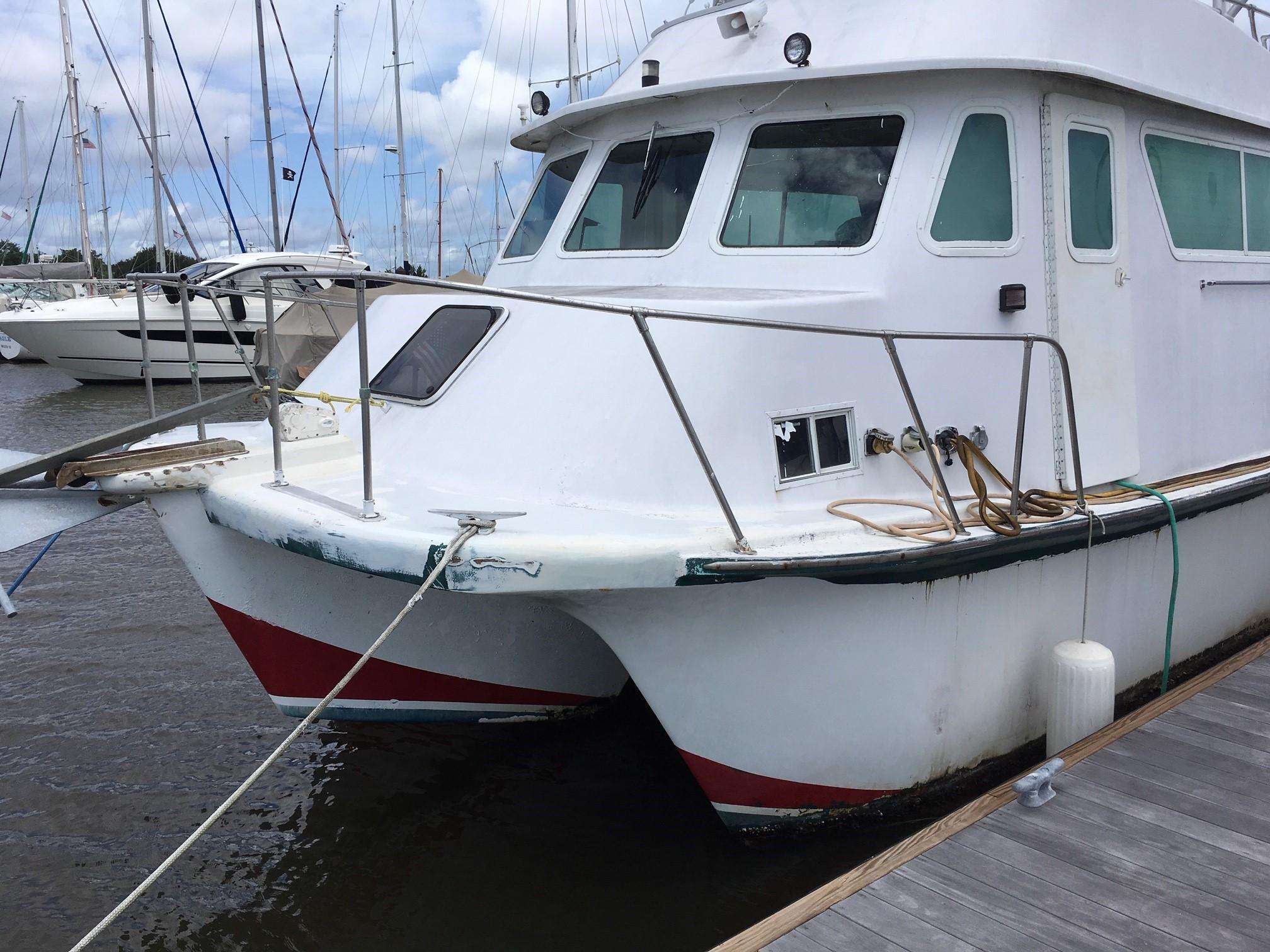 Carri-craft 57-ft Power Catamaran - power catmaran