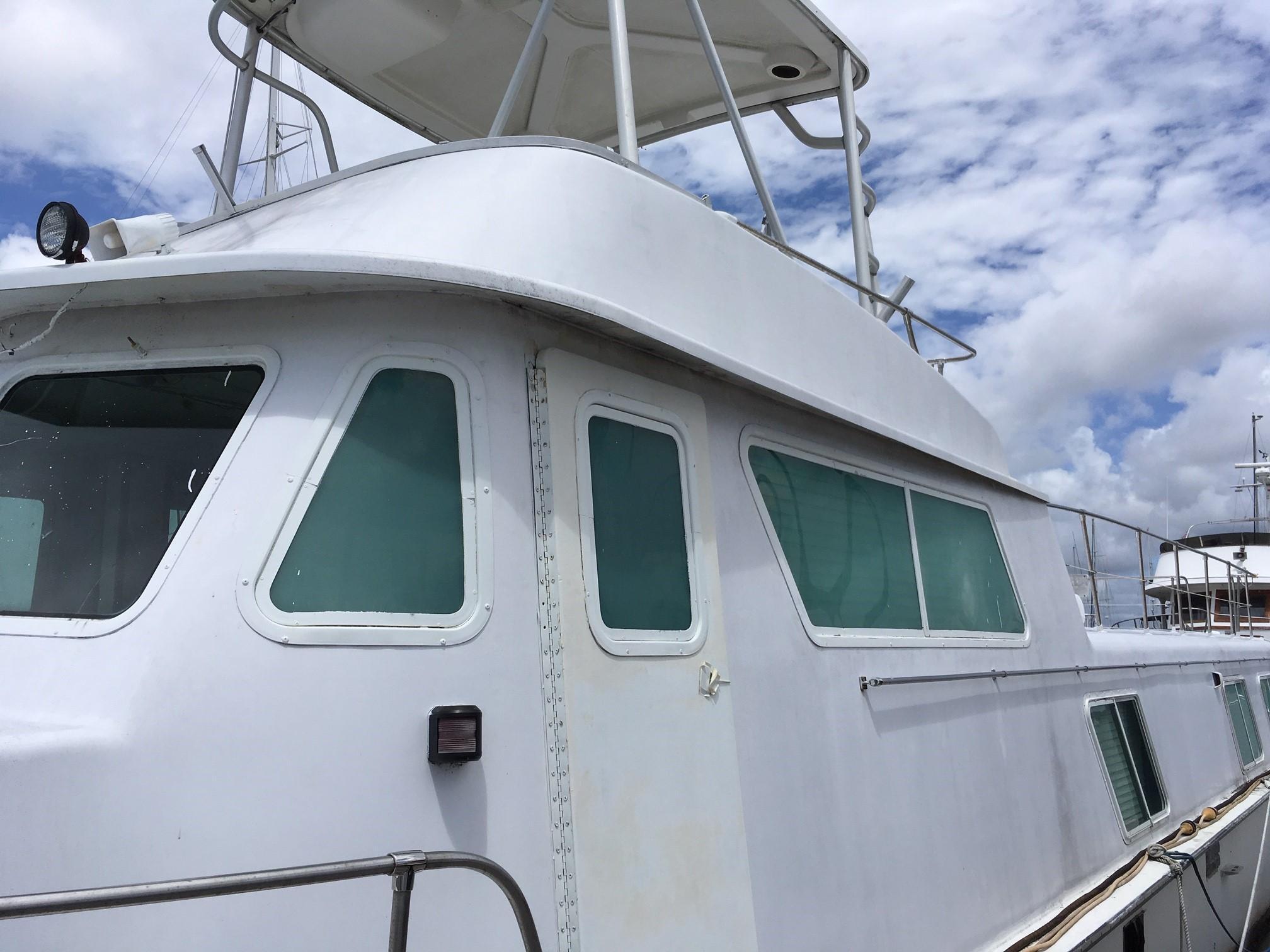 Carri-craft 57-ft Power Catamaran - port
