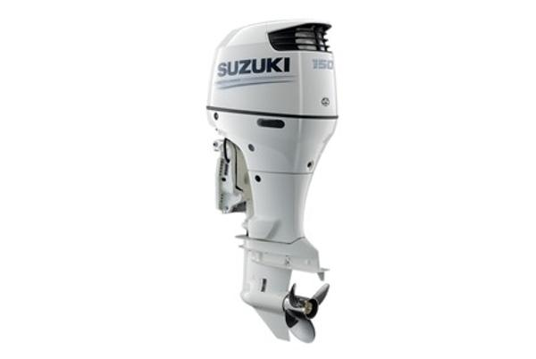 2021 SUZUKI 150 HP 4-stroke 20 inch shaft White or Black image