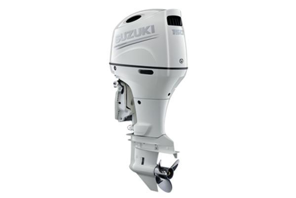 2021 SUZUKI 150 HP 4-stroke 25 inch shaft White or Black image