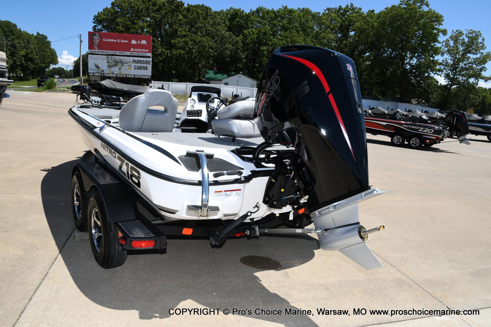 2021 Nitro boat for sale, model of the boat is Z18 Pro Package & Image # 14 of 50