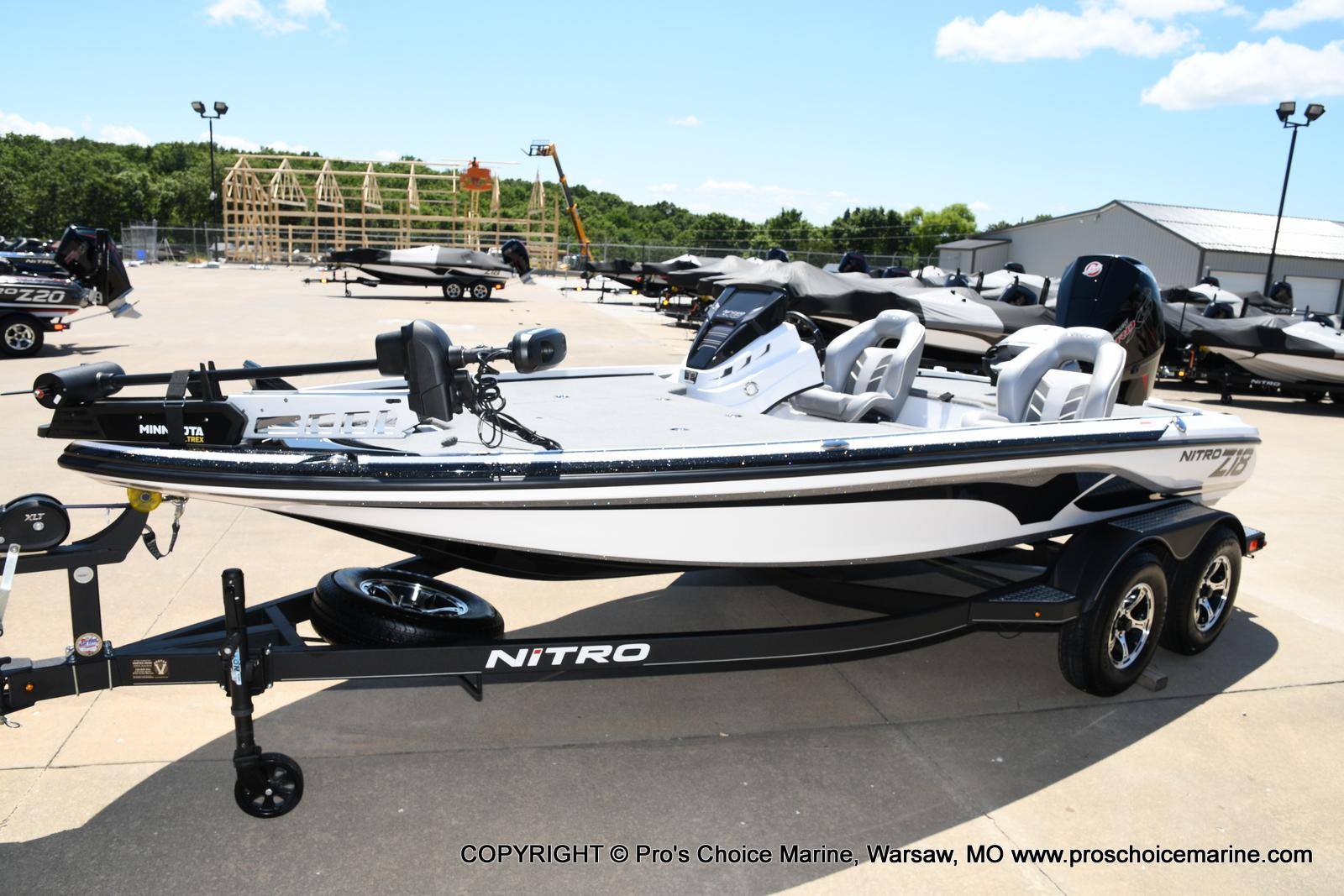 2021 Nitro boat for sale, model of the boat is Z18 Pro Package & Image # 15 of 50
